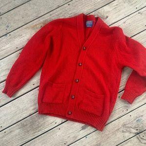 Vintage Pendleton wool cardigan large